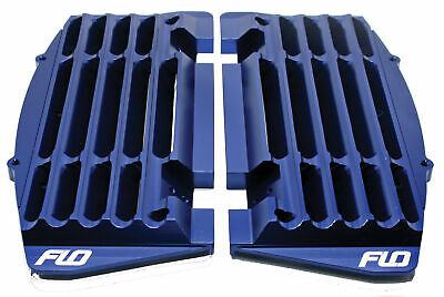 Flo Motorsports FLO750BLU Blue High Flow Radiator Braces