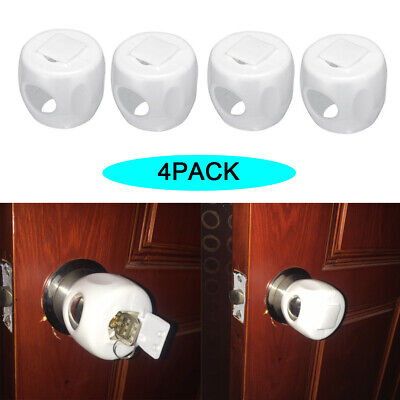 Safety Doorknob Cover Door Lever Lock Handle Fixation Guard Doorknob Stopper