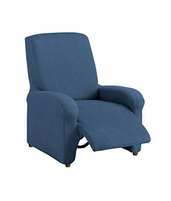 Textilhome - Copripoltrona Relax RELAX COMPLETO, Blu