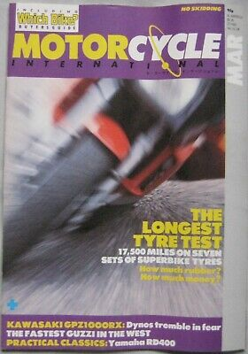 Motorcycle International magazine March 1986 Issue 10