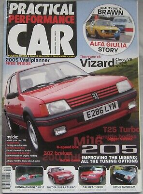 Practical Performance Car Magazine December 2004 Issue 8