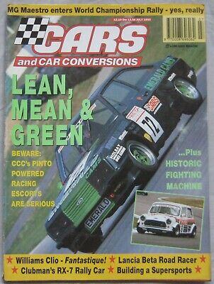 Cars & Car Conversions magazine July 1993