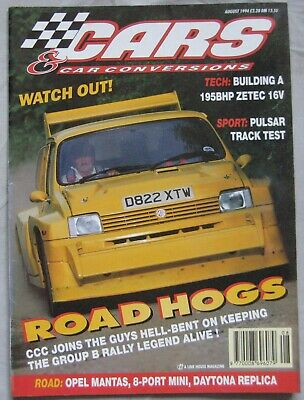 Cars & Car Conversions magazine August 1994