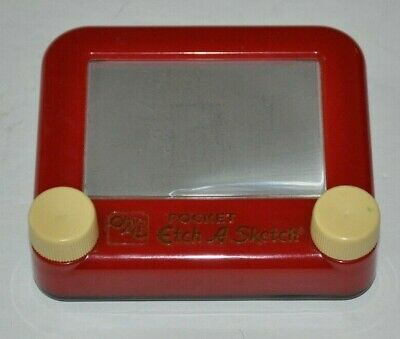 POCKET ETCH A SKETCH classic TOY Ohio Art