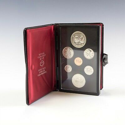 1974 Royal Canadian Mint Canada Coins Double Dollar Prestige Proof Set NR