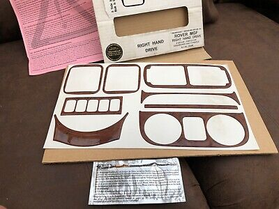 ROVER MGF MK 2 2000 UP Walnut  DASH TRIM KIT