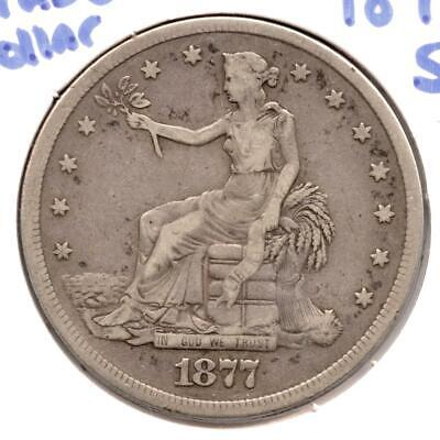 1877-S Silver Trade Dollar - San Francisco Mint MA913
