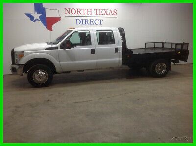 2012 Ford F-350 FREE HOME DELIVERY! F350 Dually 4x4 Crew Flat Bed 2012 FREE HOME DELIVERY! F350 Dually 4x4 Crew Flat Bed Used 6.2L V8 16V