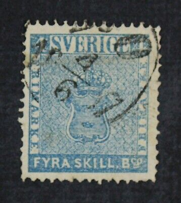 CKStamps: Sweden Stamps Collection Scott#2 Used