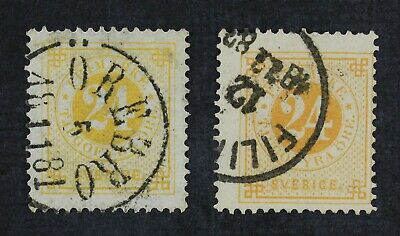 CKStamps: Sweden Stamps Collection Scott#34 34a Used