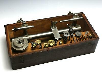 Vintage Watchmakers Lathe Tool Set w/ Accessories - Unmarked Lorch or Boley ???