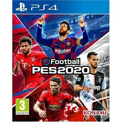 PES 2020 PS4 Pro Evolution Soccer NEW eFootball PlayStation 4