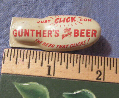 Vintage Gunther's Beer Clicker -- The Beer That Clicks
