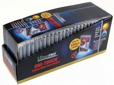 25 ULTRA PRO One Touch Magnetic Thick Holders 130pt UV Gold Magnet