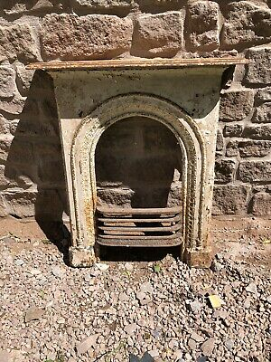 Antique victorian cast iron fireplace surround Reclaimed Salvage