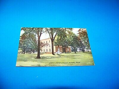 """Chapel at Albion College   Albion, Michigan   """"The Rotograph Co.""""  Vintage"""