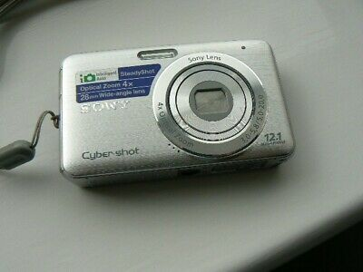 Sony Cyber-shot DSC-W310 12.1MP Digital Camera - Silver