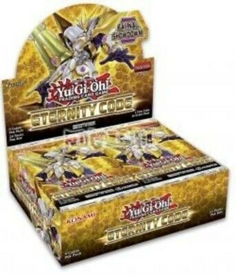 YUGIOH ETERNITY CODE BOOSTER 1st EDITION NEW-SEALED