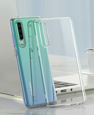 Huawei P30 Lite Shockproof Transparent Soft Silicone Phone Case