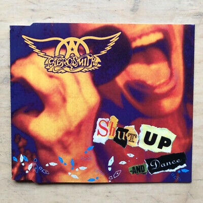 Aerosmith Shut Up And Dance Cd Single With Deuces Are Wild/Crazy - Orchestral/Li