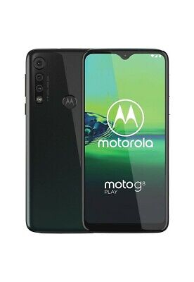 "Motorola Moto G8 Play (32GB) 6.2"" Dual SIM 4G LTE GSM Factory Unlocked GRAY"