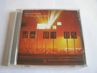 cd depeche mode: the singles 81-85
