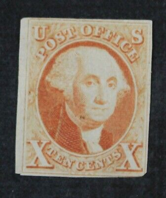 CKStamps: US Stamps Collection Scott#2TC 5c Unused NG Tiny Thin