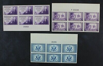 CKStamps: US Stamps Collection Scott#754 755 Unused NH NG #771 LH NG