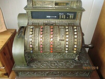 Registrierkasse The National Cash Register Dayton Ohio um 1900