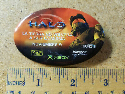 Halo 2 Spanish Button - Video Game Promo