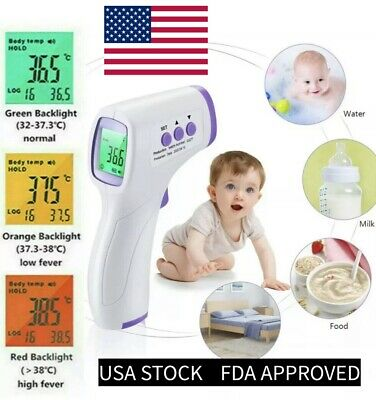 ✅Thermometer Digital Infrared ➕Free Faceshied🚚, ✅termometro corporal laser🇺🇸✅
