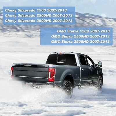 Chrome Lens High Mount Waterproof Dual Row LED 3rd Third Tail Rear Brake Light Cargo Lamp Replacement For 2002-2009 Dodge Ram 1500 2500 3500