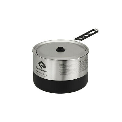 Sea To Summit Sigma 2.7 Litre Stainless Steel Pot - Grey