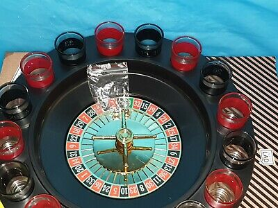 Electronic Drinking Roulette Party Set spin shot STAG HEN Game verre jeux adulte