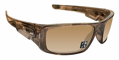 Oakley Crankshaft Brown Frame Tungsten Iridium Polarized Authentic Lens 92390760