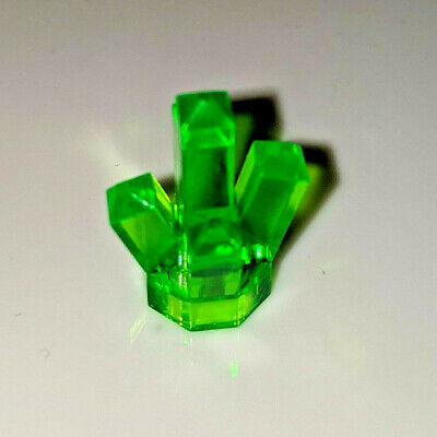 LEGO LOT OF 25 NEW YELLOW 5 POINT CRYSTALS JEMS JEWELS PIECES