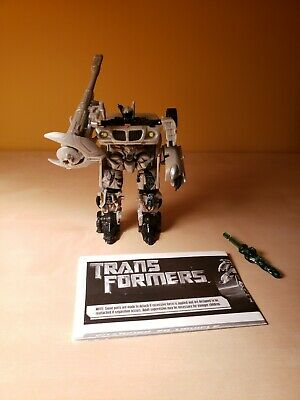 transformers movie 2007 deluxe JAZZ excellent rare lot 515 549