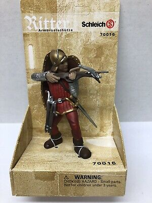 Schleich Ritter Blue Knight with Big Sword #70001 New in Box Rare Free Shipping