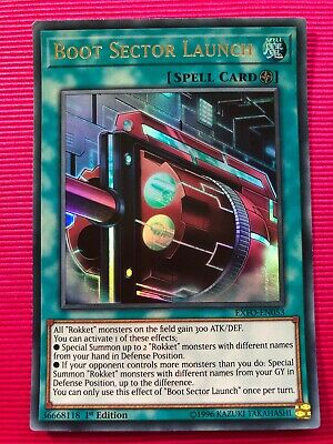 NM - Ultra BOOT SECTOR LAUNCH Yu-Gi-Oh EXFO-EN053-1st