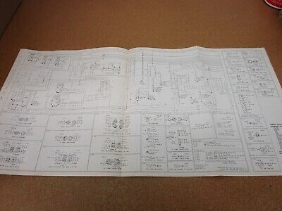 1986 Ford F600 F700 F800 Cab Cowl Wiring Diagram Schematic Sheet Service Manual 19 05 Picclick Uk