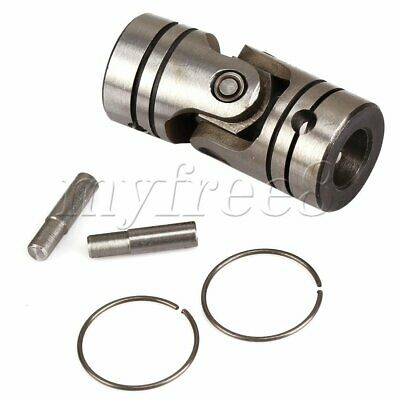 12mm Bore 23mm OD Steering Universal Joint Motor Shaft Coupling Connector