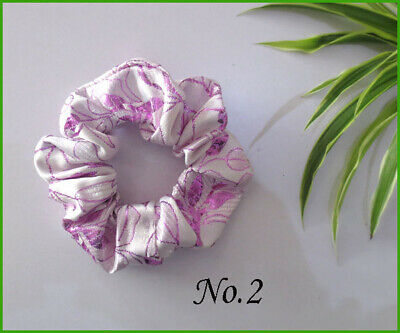 12 Women Girl Fashion New Style Wrinkly Hair Elastic Ties Band Ponytail Holder B