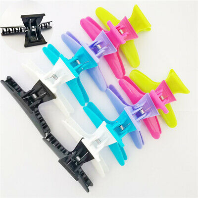 Section Clamp Claw Butterfly Styling 12PCS/Set Salon Hairdressing Clips Hair