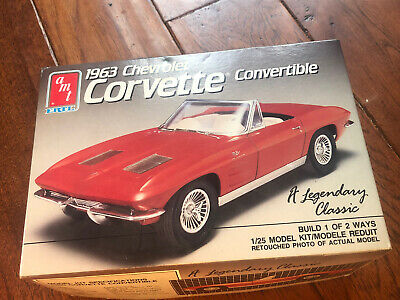 Ertl Big A 1963 Chevrolet Corvette Stingray Limited Edition 1//25 Scale 30 Years