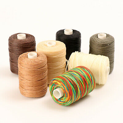 50 g Black Realeather Waxed Thread for Leathercrafting