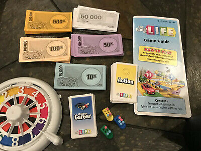 Life Board Game Replacement Parts Pick the Part You Need Multiple Editions