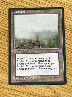 Brushland English NM-Mint Ice Age MTG