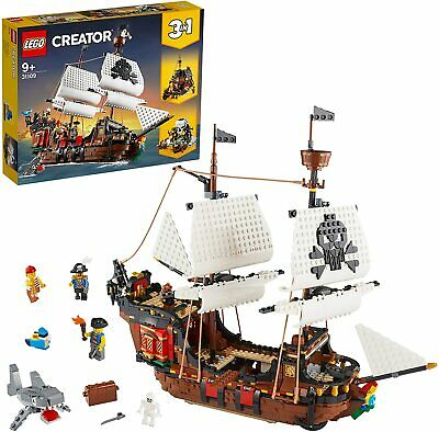FLASH SALE🔥Authentic LEGO Creator Pirate Ship 3 In 1(31109),Sealed & Receipt