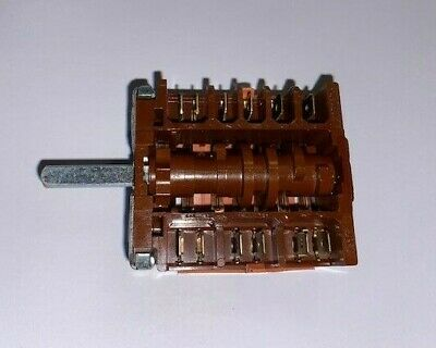 Ego 46.27266.813 Rotary Switch 6 Position Hob Boiling Top Ovens 4627266813 Gs309