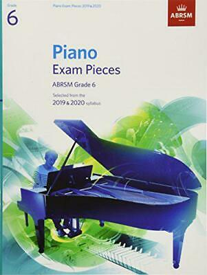 Piano Exam Pieces 2019 & 2020, ABRSM Grade 6: Selected from the 2019 & 2020 syll